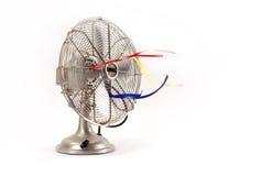 elektrisk ventilatortappning Arkivbilder