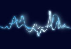 elektrisk wave Royaltyfria Bilder