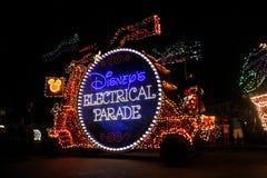 Elektriska Disney ståtar, Orlando, FL Arkivbilder