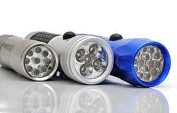 elektriska facklor Fotografering för Bildbyråer