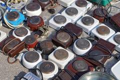 Elektriska gasbrännare Royaltyfria Bilder