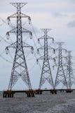 elektriska havstowes för acoss Royaltyfri Bild