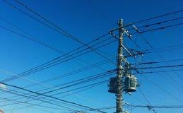 elektriska linjer Royaltyfri Foto