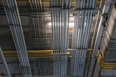 Elektriska metallrör Royaltyfri Bild