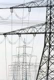 elektriska poler Arkivfoton