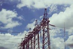 elektriska poler Royaltyfri Bild