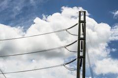 elektriska poler Arkivfoto
