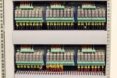 elektriska relays Royaltyfri Foto