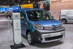 Elektriska Renault Kangoo Z E Arkivfoto