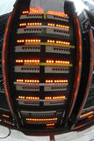Elektriska strömbrytare Arkivbild
