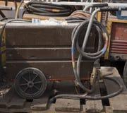 Elektriska svetsningmaskiner arkivfoto