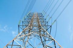 elektriska torn Arkivbilder