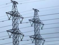 elektriska torn Royaltyfria Foton