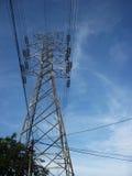 Elektriska torn, stående Arkivfoton