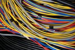elektriska trådar Arkivbild