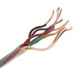 elektriska trådar Royaltyfri Fotografi