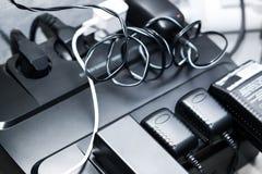 Elektriska uppladdare Fotografering för Bildbyråer