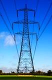 elektriska vaktposter Arkivfoton
