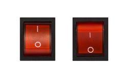 elektriskt av strömbrytaren Royaltyfri Bild