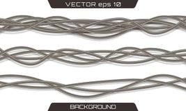 Elektriskt grått industriellt vektor illustrationer