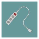 Elektriskt hålighetuttag Arkivfoton