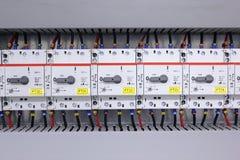 elektriskt installationsskydd royaltyfri bild