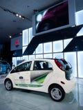 elektriskt mitsubishi för bilbegrepp medel 2010 Arkivbild
