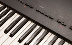 elektriskt piano Arkivfoto