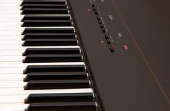 elektriskt piano Royaltyfria Foton