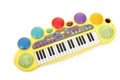 elektriskt piano s för barn Fotografering för Bildbyråer