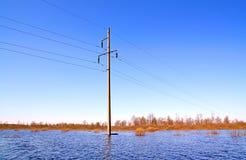 elektriskt polvatten Royaltyfri Bild
