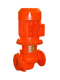 elektriskt pumpvatten Royaltyfri Foto