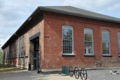 Elektriskt stadsspårvagnmuseum i Scranton royaltyfria bilder