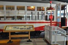 Elektriskt stadsspårvagnmuseum i Scranton royaltyfria foton