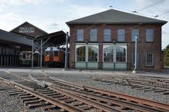Elektriskt stadsspårvagnmuseum i Scranton royaltyfri foto
