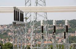 Elektriskt system Arkivbilder
