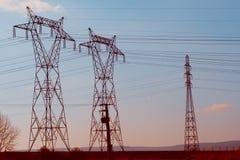 elektriskt torn Arkivfoto