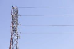 Elektriskt torn Arkivbild