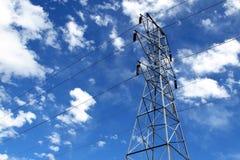 elektriskt torn Royaltyfri Fotografi
