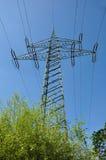 elektriskt torn Fotografering för Bildbyråer