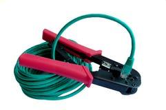 elektriskt utrustningnätverk Royaltyfria Bilder