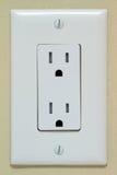 Elektriskt uttag Arkivbilder