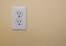 Elektriskt uttag Royaltyfria Foton