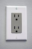 elektriskt uttag Arkivfoto
