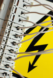 Elektrizität lizenzfreie stockfotografie