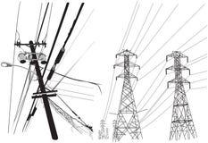 Elektrizität lizenzfreie abbildung