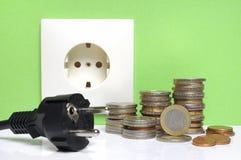 Elektrizität Bill lizenzfreie stockfotografie
