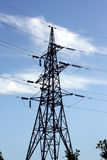 Elektrizitätsübertragung stockfotografie