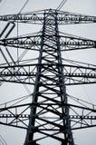 Elektrizitäts-Gondelstiel Stockfotos