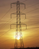 Elektrizitäts-Gondelstiel Lizenzfreie Stockfotografie